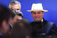 BRASÍLIA, DF, 16.07.2019 - AGENDA-BOLSONARO - O presidente Jair Bolsonaro durante cerimônia de posse do novo presidente do BNDES Gustavo Montezano, no Palácio do Planalto, nesta terça-feira, 16. (Foto: Ricardo Botelho/Brazil Photo Press/Folhapress)