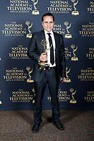 PASADENA - May 5: Maurice Benard in the press room at the 46th Daytime Emmy Awards Gala at the Pasadena Civic Center on May 5, 2019 in Pasadena, California