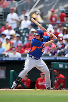 New York Mets Darrell Ceciliani (93) during a Spring Training game against the St. Louis Cardinals on April 2, 2015 at Roger Dean Stadium in Jupiter, Florida.  The game ended in a 0-0 tie.  (Mike Janes/Four Seam Images)