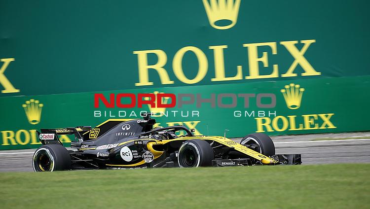 31.08.2018, Autodromo di Monza, Monza, FORMULA 1 GRAN PREMIO HEINEKEN D'ITALIA 2018<br />,im Bild<br />Nico Hülkenberg (GER#27), Renault Sport F1 Team<br /> <br /> Foto © nordphoto / Bratic