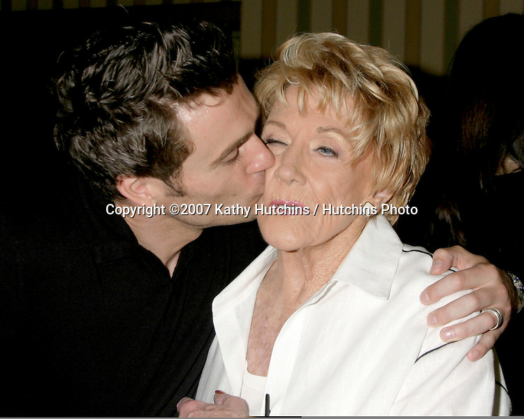 Daniel Goddard & Jeanne Cooper.The Young and the Restless Fan Luncheon.Universal Sheraton Hotel.Los Angeles,  CA.Aug 26, 2007.©2007 Kathy Hutchins / Hutchins Photo....