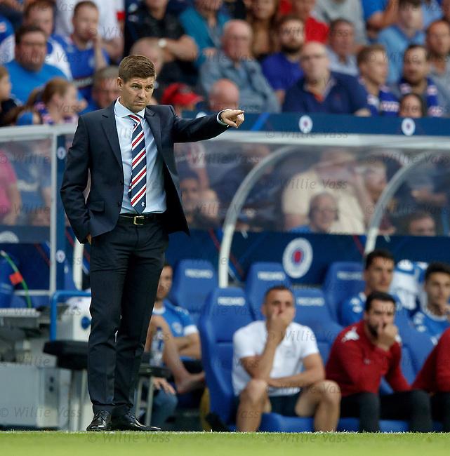 12.07.18 Rangers v FK Skhupi: Steven Gerrard