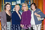 Mary and Phlomena Bates, Mary Welch and Anne O'Carroll Duagh/Lyre who were runners up in the Best Overall Area at the Kerry Community games awards in the River Island Hotel on Friday night