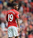 Marcus Rashford of Manchester United during the Premier League match at Old Trafford Stadium, Manchester. Picture date: September 24th, 2016. Pic Sportimage