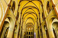 Interior view, Notre Dame Cathedral, Ho Chi Minh City (Saigon), Vietnam.