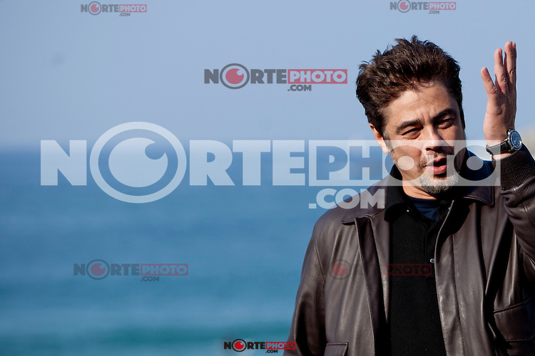 Puerto Rican actor Benicio del Toro presents the film: 'Paradise Lost' during the 62st San Sebastian Film Festival in San Sebastian, Spain. September 26, 2014. (ALTERPHOTOS/Caro Marin) /NortePhoto.com