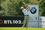 Florian Fritsch (GER) tees off on the 5th hole during Day 3 of the BMW Italian Open at Royal Park I Roveri, Turin, Italy, 11th June 2011 (Photo Eoin Clarke/Golffile 2011)