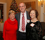 Waterbury, CT 120717MK11 (from left) Diane and Mark Lancor with Kathi Crowe, executive director Waterbury Youth Services, gathered for the Waterbury Youth Services, Inc. Santa's Workshop at The Country Club of Waterbury. The event helps raise funds to make the holiday season memorable for children in need Michael Kabelka / Republican-American