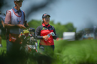 Moriya Jutanugarn (THA) looks over her approach shot on 1 during round 1 of  the Volunteers of America LPGA Texas Classic, at the Old American Golf Club in The Colony, Texas, USA. 5/5/2018.<br /> Picture: Golffile | Ken Murray<br /> <br /> <br /> All photo usage must carry mandatory copyright credit (&copy; Golffile | Ken Murray)