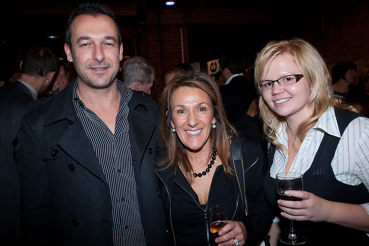 Claude , Kriss, Kirsty Jinnettee. The 14th SA Premier's Food Industry Awards VIP Kudos Club Corporate Partners Function.