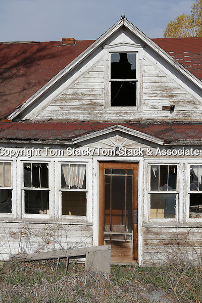 Abandoned house, Baggs, Wyoming
