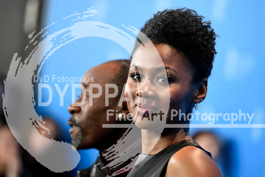 Don Cheadle and Emayatzy Corinealdi during the 'Miles Ahead' photocall at the 66th Berlin International Film Festival / Berlinale 2016 on February 18, 2016 in Berlin, Germany.