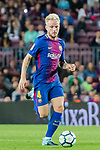 Ivan Rakitic of FC Barcelona in action during the La Liga 2017-18 match between FC Barcelona and SD Eibar at Camp Nou on 19 September 2017 in Barcelona, Spain. Photo by Vicens Gimenez / Power Sport Images