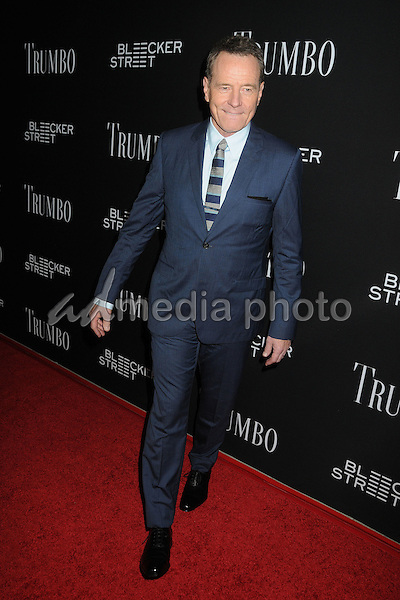 "27 October 2015 - Beverly Hills, California - Bryan Cranston. ""Trumbo"" Los Angeles Premiere held at the AMPAS Samuel Goldwyn Theater. Photo Credit: Byron Purvis/AdMedia"