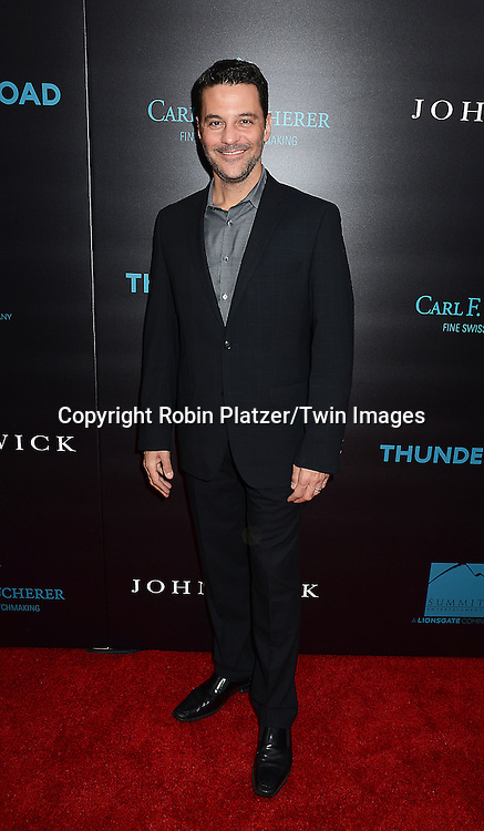 David Alan Basche attends the Special Screening of &quot;John Wick&quot;  on October 13, 2014 at the Regal Union Square Stadium 14 in New York City.<br /> <br /> photo by Robin Platzer/Twin Images<br />  <br /> phone number 212-935-0770