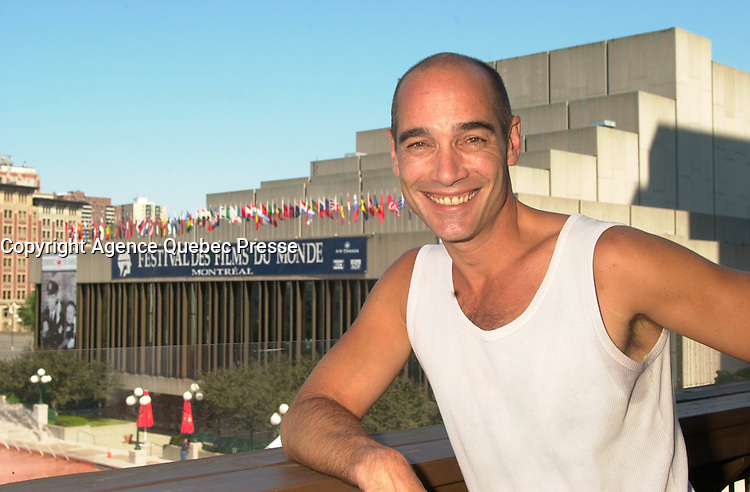 Jean-Marc Barre<br /> at the 2002 World Film Festival -<br /> au Festival des Films du Monde 2002