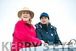 l-r  Roisin Sheehy and Elaine Tough at The Dingle Races at Ballintaggart Racecourse on Saturday, supporting their sons who were both taking part in the race