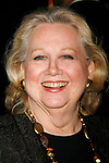 Barbara Cook arriving for the Opening Night Performance of the Roundabout Theatre Company's Broadway Production of 110 IN THE SHADE at Studio 54 in New York City.<br />