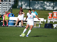 Kansas City, MO - Sunday September 04, 2016: Yael Averbuch during a regular season National Women's Soccer League (NWSL) match between FC Kansas City and the Sky Blue FC at Swope Soccer Village.