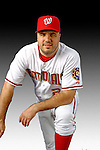 25 February 2007: Washington Nationals first baseman Nick Johnson poses for his Photo Day portrait at Space Coast Stadium in Viera, Florida.<br /> <br /> Mandatory Photo Credit: Ed Wolfstein Photo<br /> <br /> Note: This image is available in a RAW (NEF) File Format - contact Photographer.