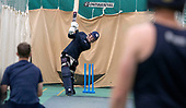 Cricket Scotland - Scotland men training at MES - George Munsey- picture by Donald MacLeod - 26.01.2019 - 07702 319 738 - clanmacleod@btinternet.com - www.donald-macleod.com