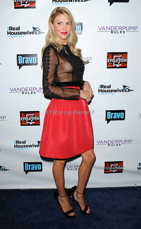 Brandi Glanville arriving to The Real Housewives of Beverly Hills Season 4 and Vanderpump Rules Season 2 premiere party, held at Boulevard 3 in Los Angeles, Ca. October 23, 2013.
