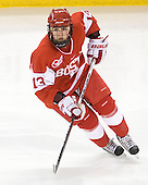Kaleigh Fratkin (BU - 13) - The Boston College Eagles defeated the Boston University Terriers 2-1 in the opening round of the Beanpot on Tuesday, February 8, 2011, at Conte Forum in Chestnut Hill, Massachusetts.