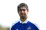 28 August 2016: UNCA assistant coach Matt Tellez. The Duke University Blue Devils hosted the University of North Carolina Asheville Bulldogs at Koskinen Stadium in Durham, North Carolina in a 2016 NCAA Division I Men's Soccer match. Duke won the game 5-1.