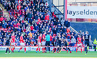 Barnsley and Leeds United players have to be seperated during the Sky Bet Championship match between Barnsley and Leeds United at Oakwell, Barnsley, England on 25 November 2017. Photo by Stephen Buckley / PRiME Media Images.