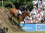 02.06.2019,  GER;  Deutsches Spring- und Dressur-Derby, 90. Deutsches Spring-Derby, im Bild Karl Schneider (GER) auf Citronello auf dem Idee Kaffee Wall Foto © nordphoto / Witke