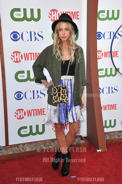 Gillian Zinser, star of 90210, at the CBS Summer 2011 TCA Party at The Pagoda, Beverly Hills..August 3, 2011  Los Angeles, CA.Picture: Paul Smith / Featureflash