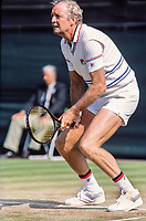 June 30, 1983, London, England, AELTC, All England Club, Wimbledon, Fred Stolle (AUS) <br /> Photo: Tennisimages/Henk Koster