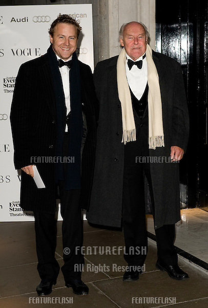 Sam and Timothy West arriving for The Evening Standard Theatre Awards 2011, Savoy Hotel  London. 20/11/2011 Picture by: Simon Burchell / Featureflash