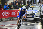 Dan Martin (IRL) Quick-Step Floors in action during Stage 1, a 14km individual time trial around Dusseldorf, of the 104th edition of the Tour de France 2017, Dusseldorf, Germany. 1st July 2017.<br /> Picture: Eoin Clarke | Cyclefile<br /> <br /> <br /> All photos usage must carry mandatory copyright credit (&copy; Cyclefile | Eoin Clarke)