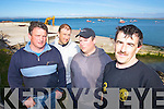 NEW SLIP: Castlegregory fishermen at the site of the new slip way in Scraggane Pier, Castlegregory l-r: Vincent Brown, Declan Griffin, Sean Cronin and Tommy Griffin.   Copyright Kerry's Eye 2008