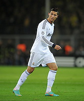 FUSSBALL   CHAMPIONS LEAGUE   SAISON 2012/2013   GRUPPENPHASE   Borussia Dortmund - Real Madrid                                 24.10.2012 Cristiano Ronaldo (Real Madrid)