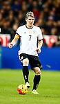 Frankrijk, Parijs, 13 november 2015<br /> Oefenwedstrijd<br /> Frankrijk-Duitsland (2-0)<br /> Bastian Schweinsteiger, aanvoerder van Duitsland