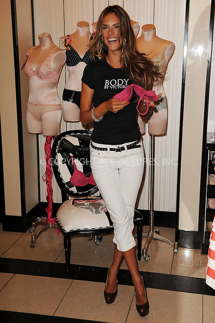 WWW.ACEPIXS.COM . . . . . ....August 11 2009, New York City....Model Alessandra Ambrosio celebrates the Victoria's Secret 10-year anniversary of The Body By Victoria Collection at Victoria's Secret Herald Square on August 11, 2009 in New York City....Please byline: KRISTIN CALLAHAN - ACEPIXS.COM.. . . . . . ..Ace Pictures, Inc:  ..tel: (212) 243 8787 or (646) 769 0430..e-mail: info@acepixs.com..web: http://www.acepixs.com