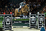 Kevin Staut of France riding Estoy Aqui de Muze HDC in action during the Hong Kong Jockey Club Trophy competition as part of the Longines Hong Kong Masters on 13 February 2015, at the Asia World Expo, outskirts Hong Kong, China. Photo by Victor Fraile / Power Sport Images