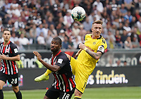 Marco Reus (Borussia Dortmund) gegen Almamy Touré (Eintracht Frankfurt) - 22.09.2019: Eintracht Frankfurt vs. Borussia Dortmund, Commerzbank Arena, 5. Spieltag<br /> DISCLAIMER: DFL regulations prohibit any use of photographs as image sequences and/or quasi-video.