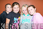 GOOD TIME: Having a good time at Sliabh Luachra Family Fun Day at the Castleisland Community centre on Sunday l-r: Chelsey Hayes, Roisin Horan, Liz McSweeney and Labhaoise Walmsley.   Copyright Kerry's Eye 2008