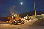 HMC loader moving snow Feb. 2011