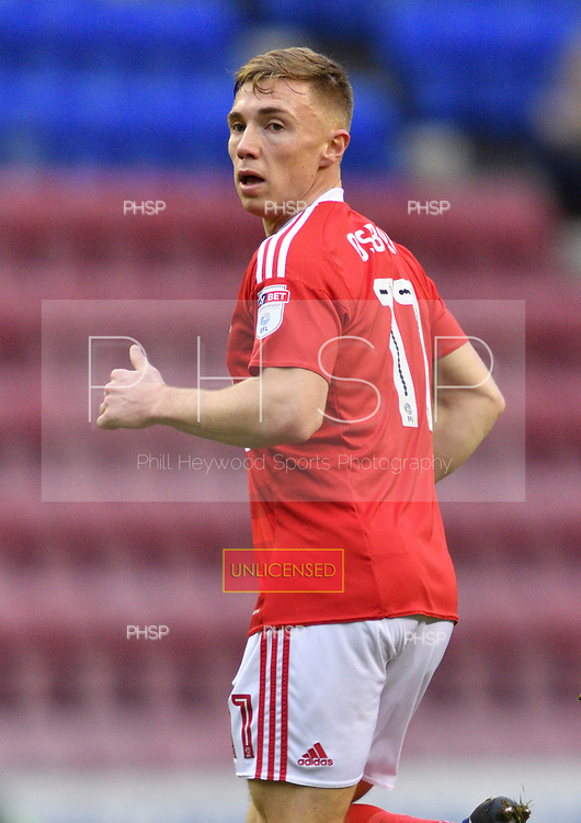 25/02/2017 Sky Bet Championship Wigan Athletic v Nottingham Forest<br /> <br /> Ben Osborn, Nottingham Forest FC