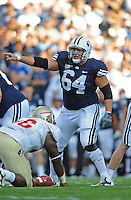 Sept. 19, 2009; Provo, UT, USA; BYU Cougars center (64) R.J. Willing against the Florida State Seminoles at LaVell Edwards Stadium. Florida State defeated BYU 54-28. Mandatory Credit: Mark J. Rebilas-