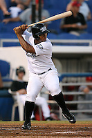 April 10th 2009:  Right Fielder Moises Sierra of the Dunedin Blue Jays, Florida State League Class-A affiliate of the Toronto Blue Jays, during a game at Dunedin Stadium in Dunedin, FL.  Photo by:  Mike Janes/Four Seam Images