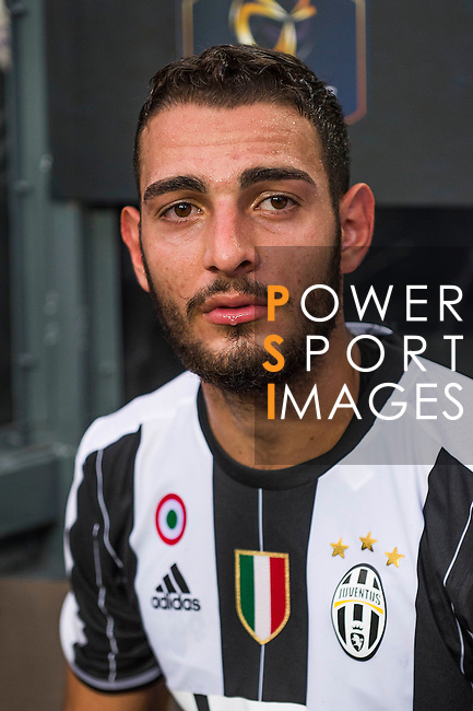 Juventus' player Grigoris Kastanos poses for a photo after the South China vs Juventus match of the AET International Challenge Cup on 30 July 2016 at Hong Kong Stadium, in Hong Kong, China.  Photo by Marcio Machado / Power Sport Images