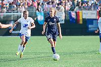 Allston, MA - Sunday July 17, 2016: Louise Schillgard, Sarah Killion during a regular season National Women's Soccer League (NWSL) match between the Boston Breakers and Sky Blue FC at Jordan Field.