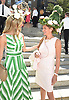 Shannon Henderson and Genie Egerton-Warburton attends the Central Park Conservancy Hat Luncheon on May 2, 2018 in the Conservatory Garden in New York, New York, USA.<br /> <br /> photo by Robin Platzer/Twin Images<br />  <br /> phone number 212-935-0770