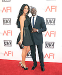 Djimon Hounsou and Kimora Lee at TV Land's 2011 AFI Lifetime AChievement Award Honoring Morgan Freeman held at Sony Picture Studios in Culver City, California on June 09,2011                                                                               © 2011 Hollywood Press Agency