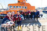 Pictured at the RNLI Recruitment Day held in Fenit on Sunday last were l-r: Kieron Bolt, Gerard O'Donnell (Lifeboat Operations Manager), Aaron Williams (Crew), Padraig Brick, Denise Lynch, Cian O'Donnell, Lee Sugrue, Jackie Murphy (Press Officer), Caitriona Moriarty, Jan Bolt and Mike O'Donnell.